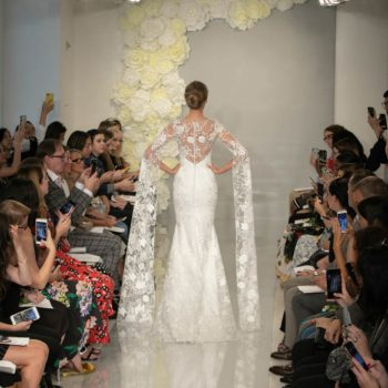 Behind the scenes from New York Bridal Fashion Week