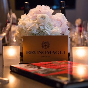 An influencer dinner with Bruno Magli