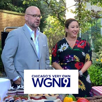 Michelle Talks Labor Day Decor and Grilling on WGN!