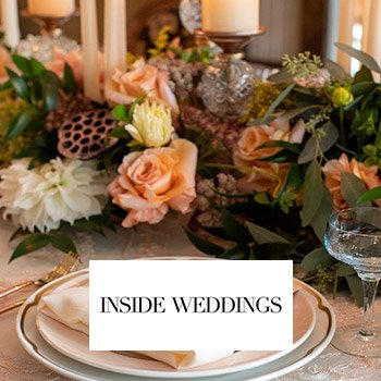 Inside Weddings: An Inspirational Shoot for an Intimate Fall Wedding at Home