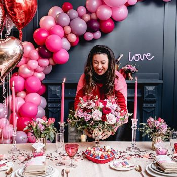 Setting The Perfect Valentine's Day Table